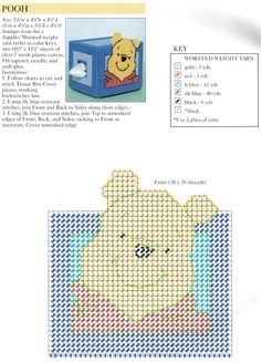 POOH TISSUE BOX COVERS 13