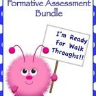 """Be prepared for walk throughs and evaluations!!!  Your principal will check """"monitors students learning"""" off the list when you utilize these formative assessments!!!"""