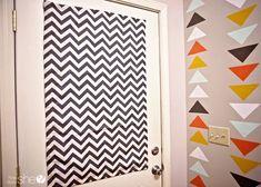 Magnetic Curtain  #howdoesshe #magneticurtain #curtainideas #smallwindowtreatments  howdoesshe.com