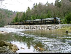 RailPictures.Net Photo: WVC 67 West Virginia Central Railroad EMD FP7A at Cheat Bridge, West Virginia by Matt Reese
