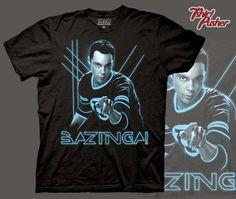 now think that on this Big Bang Theory T-Shirt with Sheldon Cooper and Bazinga! a amazing big bang t-shirt Sheldon Bazinga, Wwe Shirts, Graphic Tee Shirts, Big Bang Theory, Mens Tees, Bigbang, Cool T Shirts, Amazon, Humor