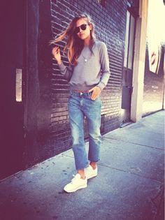 Gafas de sol redondas - Round sunglasses - Sporty chic - Street style