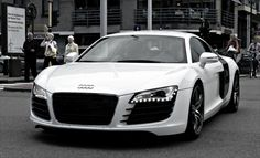 .My favorite car.  Audi R8. This will be in the driveway.