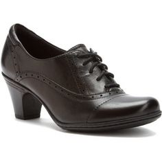 Cobb Hill Sheila, black. These don't hurt at all but are pretty at the same time! That hardly ever happens!