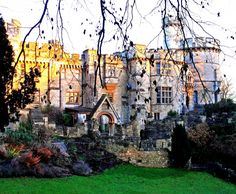 Devizes Castle was a medieval fortification in the town of Devizes, Wiltshire, England, on a site now occupied by a Victorian-era castle.  Now privately owned, rooms are available for hire.