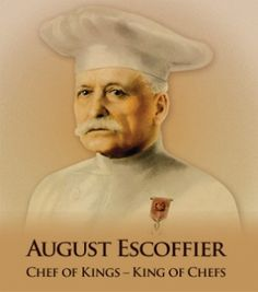 Escoffier- the writer of the culinary bible. Before there was Julia, Alice, Wolfgang, Jacques or Tom there was Escoffier! Truly the best grandest cookbook out there, but not for the faint of heart. You've got to know something about cooking to use this book. Recipes aren't written in a traditional format. But, oh so yummy. I was taught that classical French cuisine was basis for modern day food. Just as contemporary artist typically has fine art training, skills in arts food, or painting count.