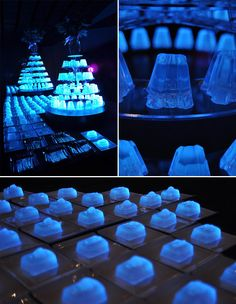 Bompas and Parr   Glow in the dark jelly