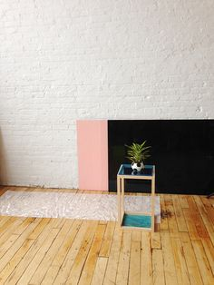 Paint the inside of the fireplace BLACK. pink. love