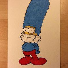 Simpson Smurf