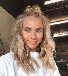 Blonde Wigs Lace Frontal Hair White Girl Wearing Lace Front Wig – wcwigs #longhair