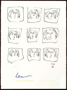 a40fe1c5ad246 Lennon Broadhurst artwork by John Lennon - art listed for sale on Artplode  The Beatles History
