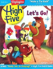 Highlights High Five for kids ages 3-5.