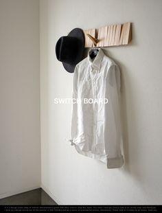 Switch Board / スイッチボード i love handle / アイラブ ハンドルウォールハンガー 壁掛け収納 壁付け 玄関収納