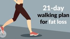 A 21-Day Walking Plan For Fat Loss - FoxHealthy - Health,Beauty,Lifestyle
