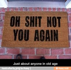 Just about anyone in old age / iFunny :)