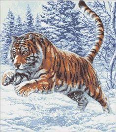Cross Stitch Sampler Patterns, Cat Cross Stitches, Cross Stitch Samplers, Cross Stitching, Cross Stitch Embroidery, Cute Tigers, Pet Tiger, Cross Stitch Animals, Watercolor Pattern