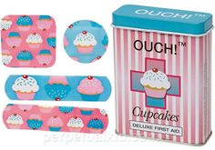 These are so cool band aids who doesn't want cupcake band aids