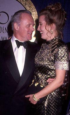Anthony Hopkins and Emma Thompson - 1993 Golden Globes