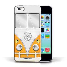 Designer Mobile Phone Case / VW Camper Van Collection / Orange #designer #case #cover #iphone #smartphone #vw #campervan