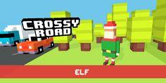 Just unlocked Elf! #crossyroad