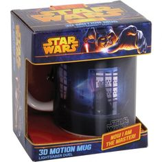 Save 21% - Now £5.45  Sometimes it takes more than just a warm cup of coffee or tea to wake you up in the morning, enter the 3D Star Wars Motion Mug-Lightsaber.