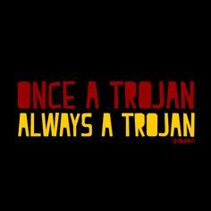 Once a Trojan, Always a Trojan #Trojan #USC
