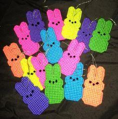 Bunny Peeps were multiplying like Rabbits!