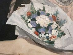Manet - Olympia , 1863 (détail) .