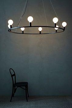 Jotex ROYAL taklampe Ø 120 cm - Svart - Belysning - Homeroom.no Track Lighting, Royals, Sweet Home, New Homes, Ceiling Lights, Interior, House, Home Decor, Dreams