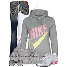 """Love A Hoodie and Jeans Day"" by cindycook10 on Polyvore"