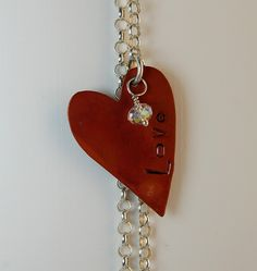 Heart with Love and Stone $90.00