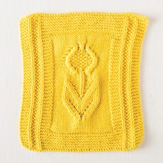 If you have a deep love of texture to create designs, the newest pattern in our Scrub-A-Dub Club is for you. By using decreases, yarn overs and wrapped stitches, the free Sunflower Dishcloth pattern will brighten your day. Lace Knitting Stitches, Dishcloth Knitting Patterns, Crochet Dishcloths, Knitting Blogs, Free Knitting, Knitting Projects, Knit Crochet, Crochet Patterns, Knit Lace
