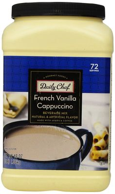 Daily Chef French Vanilla Cappuccino 48 oz.(72 Servings) ** Read more reviews of the product by visiting the link on the image.