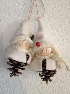Christmas Makes, Christmas Items, Felt Christmas, Homemade Christmas, Rustic Christmas, Christmas Projects, Christmas Holidays, Easy Halloween Crafts, Holiday Crafts