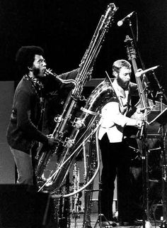 weakwar:Anthony Braxton and Dave Holland