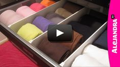 [VIDEO]: How to Organize Dresser Drawers & Fold Underwear, Bras, & Socks