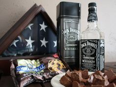 Jack Daniels Fudge---Since this is a no cook recipe regarding the booze be careful how much you eat and don't serve to minors