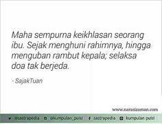 Doa tak berjeda.. by Sajak Tuan