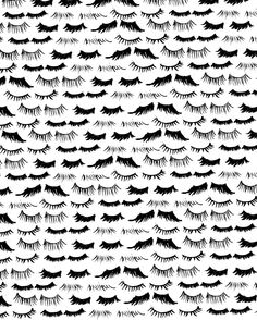 lashes #pattern