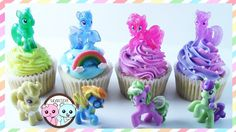 MY LITTLE PONY CUPCAKES - BY SUGARCODER