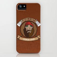 Lumberjack Since 1949 iPhone Case by HeyTrutt - $35.00