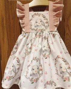Excited to share this item from my shop: Bunny Love Bellevue Dress Girls Easter Dresses, Little Girl Outfits, Little Girl Fashion, Little Girl Dresses, Toddler Fashion, Kids Outfits, Girls Dresses, Toddler Easter Outfits, Easter Dresses For Toddlers