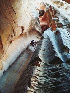 patagonia:  Canyoneering at Birch Hollow Canyon, Zion National...