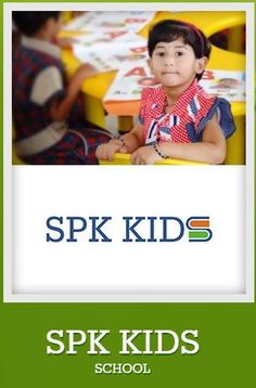 Kids will have to start attending on 'SPK KIDS School' helps them to built full confidence to get accustomed to school because they will have to start attending school on a day basis for many years.