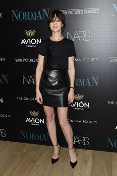 "Actress Charlotte Gainsbourg attends a screening of Sony Pictures Classics' ""Norman"" hosted by The Cinema Society at the Whitby Hotel on April 12, 2017 in New York City."
