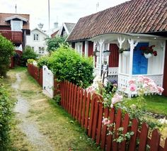 Sandhamn, Sweden. One of the thousands of islands that make up the country. This one is 3 hours away. Quaint, charming, picturesque, on the edge of rugged sea.