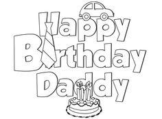 Happy Birthday Daddy Printable Birthday Card Happy Birthday Dad