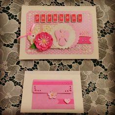 Cartão Comunhão com envelope interno