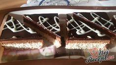 Kokosový krémový zákusek - fotopostup | NejRecept.cz Czech Recipes, Ethnic Recipes, Sweet Cakes, Tiramisu, Creme, Treats, Food, Recipes, Zucchini Cake