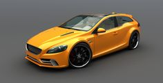 1800ES concept in electric orange. Nicely done by Vizualtech.